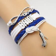 wedding bracelet gift images Infinity love royal blue wedding bracelets gift 50 off sale jpg