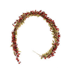 northlight berry and leaves artificial garland