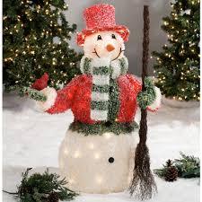 outdoor light displays snowman 24 amazing outdoor