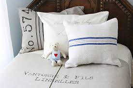 burlap pillows mode chicago shabby chic bedroom inspiration with