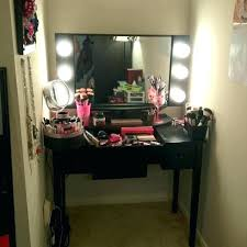 Professional Vanity Table Professional Makeup Vanity Table With Lights Desk And Mir Mirror