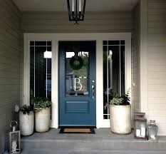grey front door red brick green paint colors tempest star blue