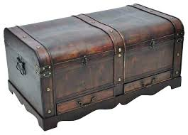 Wood Coffee Table With Storage Coffee Table Chest Storage Decorative Of Wicker Storage Trunk