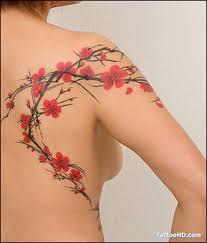cherry blossom fancy tattoos cherry blossoms