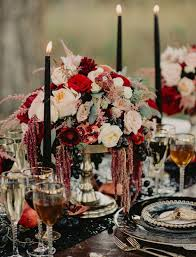 Halloween Wedding Centerpieces Ideas by 36 Ideas To Throw A Halloween Wedding With Style Weddingomania