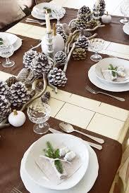 Esszimmer Tisch Deko Winterlich Festliche Tischdeko Mit Naturmaterialien Eclectic