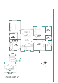 Contemporary Floor Plan by Crafty Inspiration Kerala Modern Floor Plans 7 House Home Design