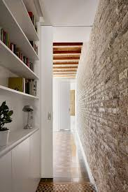 apartment white kitchen apartment in eixample designed by