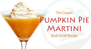 pumpkin pie martini the thanksgiving drink recipe