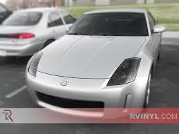 Nissan 350z Body Kits - rtint nissan 350z 2003 2009 headlight tint film