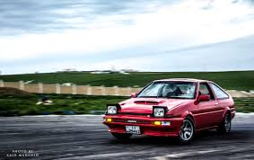 japanese ricer car what u0027s better than an ae86 going sideways