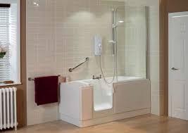 Round Bathtub Bathroom Walk In Shower Tile Wall Mounted White Round Bathtub