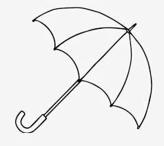 umbrella outline cliparts cliparts zone