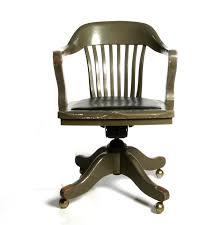 Comfortable Work Chair Design Ideas Bedroom Mesmerizing Dark Finish Antique Wooden Desk Chair On
