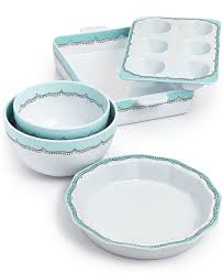 martha stewart kitchen canisters whim by martha stewart bakeware collection everything turquoise