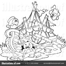 shipwreck clipart 1057405 illustration by visekart