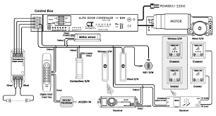 automatic door wiring diagram