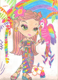 lisa frank by svillacreses on deviantart