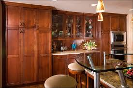 Granite Countertops With Cherry Cabinets Kitchen Kitchen Cabinet Colors Cherry Cabinets With Granite