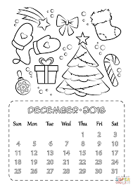 december coloring pages december 2016 calendar coloring page free