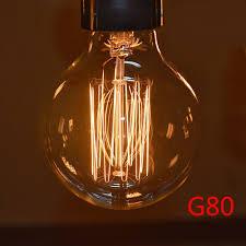Stylische Esszimmerlampen Antike Edison Glühbirnen 7 Vintage Glühlampen