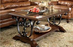 table modern ashley furniture glass top coffee table gratify