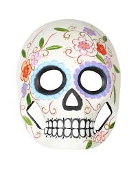 day of the dead masks day of the dead mask with flowers vines elaborately painted