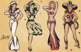 pin up tattoo designs for women u2014 fitfru style