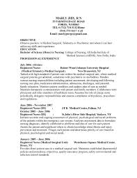 Resume Of A Registered Nurse Marly Jiby Rn Resume