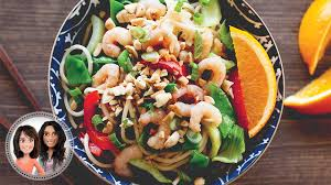 cuisine crevette tiède de crevettes à l asiatique