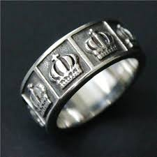 mens crown rings images Buy drop ship new band crown ring mens 316l jpg
