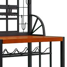 Big Lots Bakers Rack Amazon Com Sei Dome Bakers Rack Black Standing Baker U0027s Racks