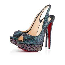 christian louboutin ever 100mm special occasion beige women