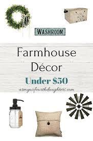 beautiful farmhouse décor under 50 farmhouse style decorating