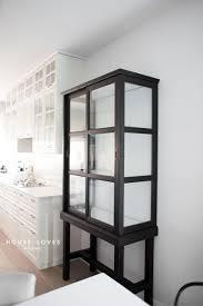 ikea fabrikor glass cabinet with magnetic door catch fabrikör fix ikea hackers