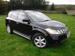 murano nissan black second hand nissan murano 3 5 v6 5dr cvt for sale in chesterfield