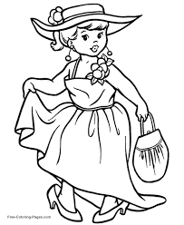 princess coloring pages print pictures color