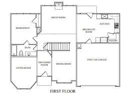 floor plans for homes the georgian floor plans new homes in ga