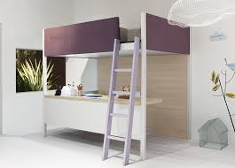 Modern Bunk Bed With Desk Modern Loft Bed Camelot Soft Loft Bed Modern Loft Beds Modern