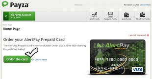 how to get a prepaid debit card withdraw money from payza account via payza prepaid debit card