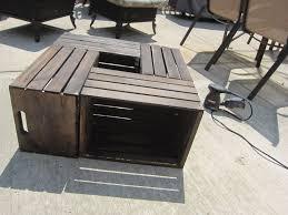 create cook teach diy crate coffee table