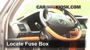 Lexus Gx470 Interior Interior Fuse Box Location 2003 2009 Lexus Gx470 2003 Lexus