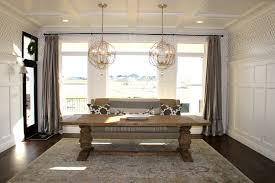 restoration hardware kitchen lighting header settees and dining tables