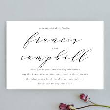 simple wedding invitations simple elegance wedding invitations by phrosne ras minted