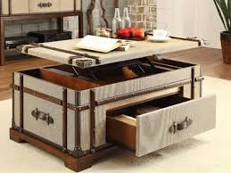 trunk coffee table set family friendly trunk coffee tables