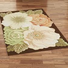magnolia floral area rugs