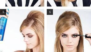 Frisuren Zum Selber Machen Toupieren by Diy Toupierte Frisur Neue Frisur