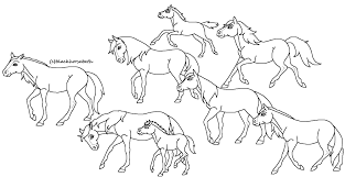 fanart blackhorsebeth herd lineart