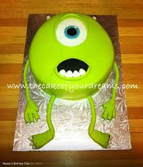monsters inc mike cake chester u0027s birthday pinterest monsters