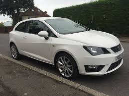 63 seat ibiza fr tsi 1 2 white sport cat d low insurance group excellent condition